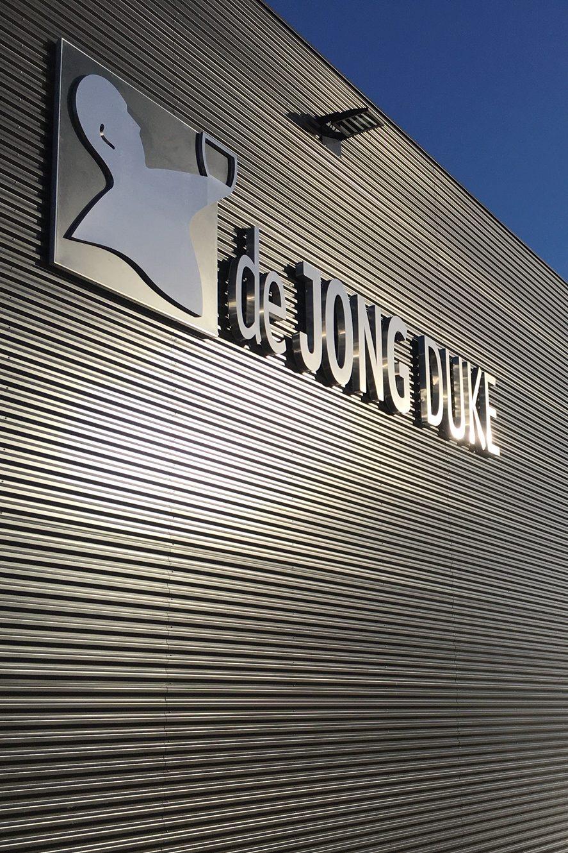 Gevelreclame de Jong Duke