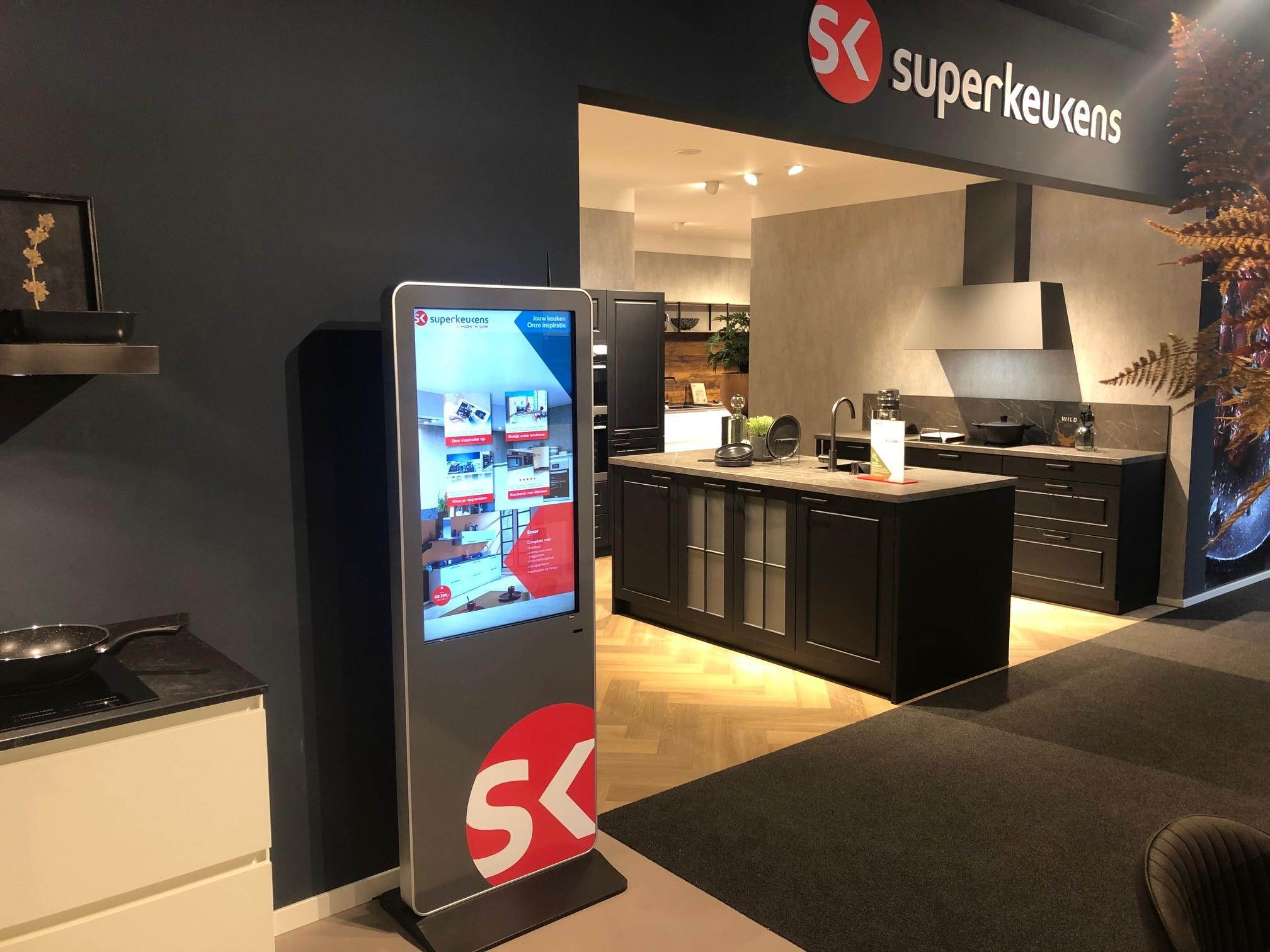 Digital Signage SuperKeukens