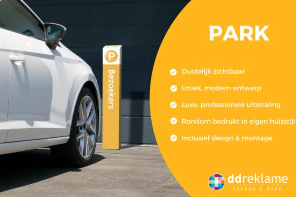 Voordelen parkeerbord PARK