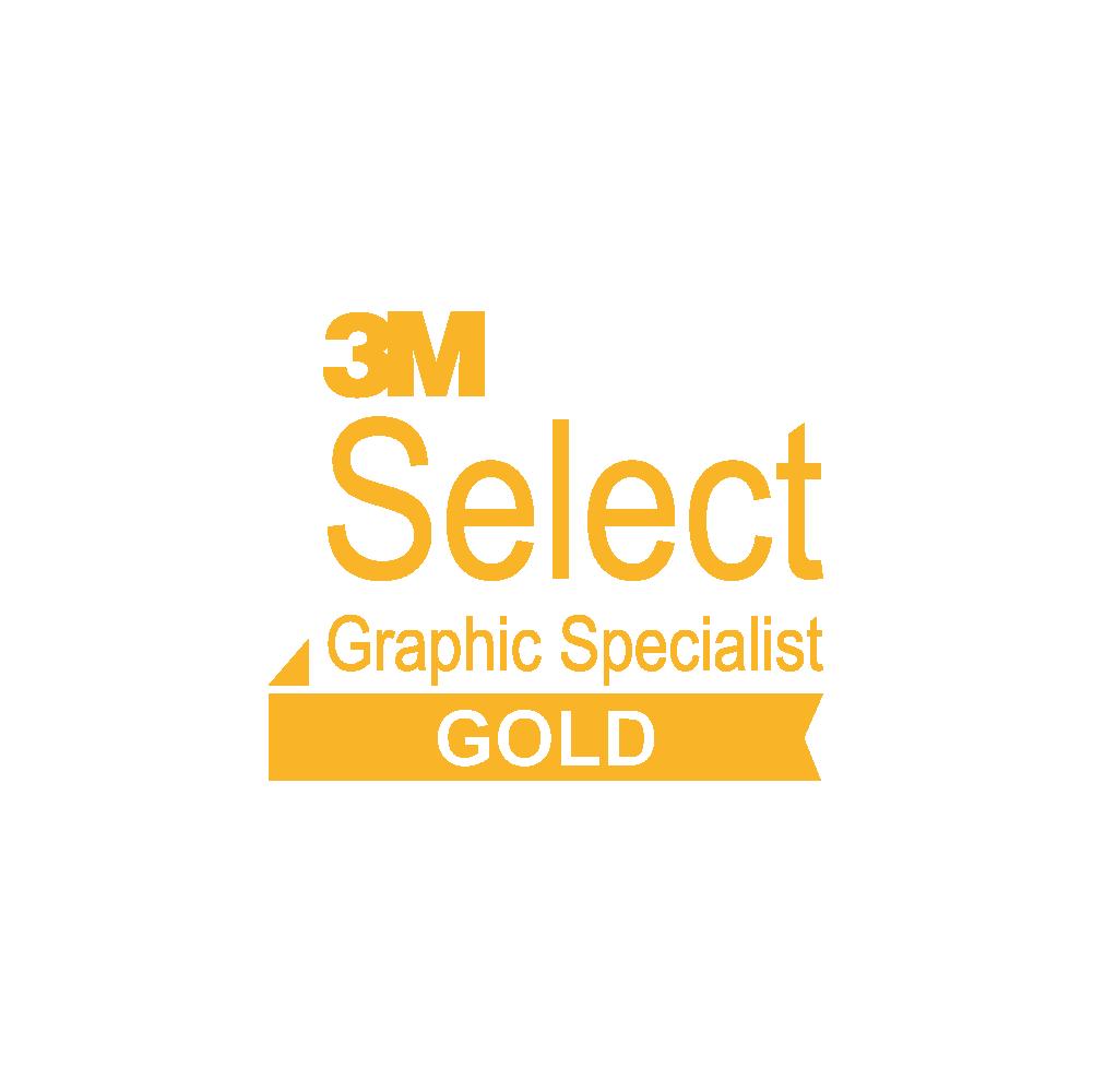 Logo 3M Select Gold met transparante achtergrond