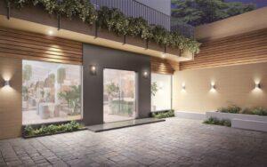 Buitenplaats voorzien van LG Interieurfolie outdoor