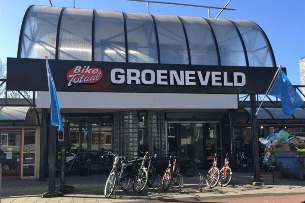 Lichtreclame voor Bike Totaal Groeneveld