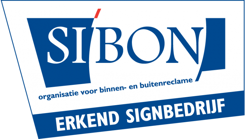 Keurkmerk Sibon Erkend Signbedrijf logo