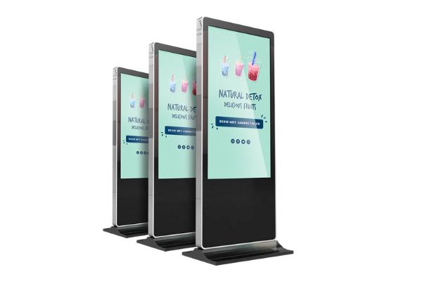 Voorbeeld van Touch Display om smoothies te bestellen