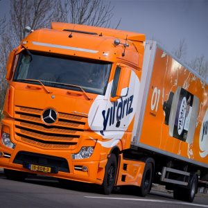 Vrachtwagen wrap Yildriz